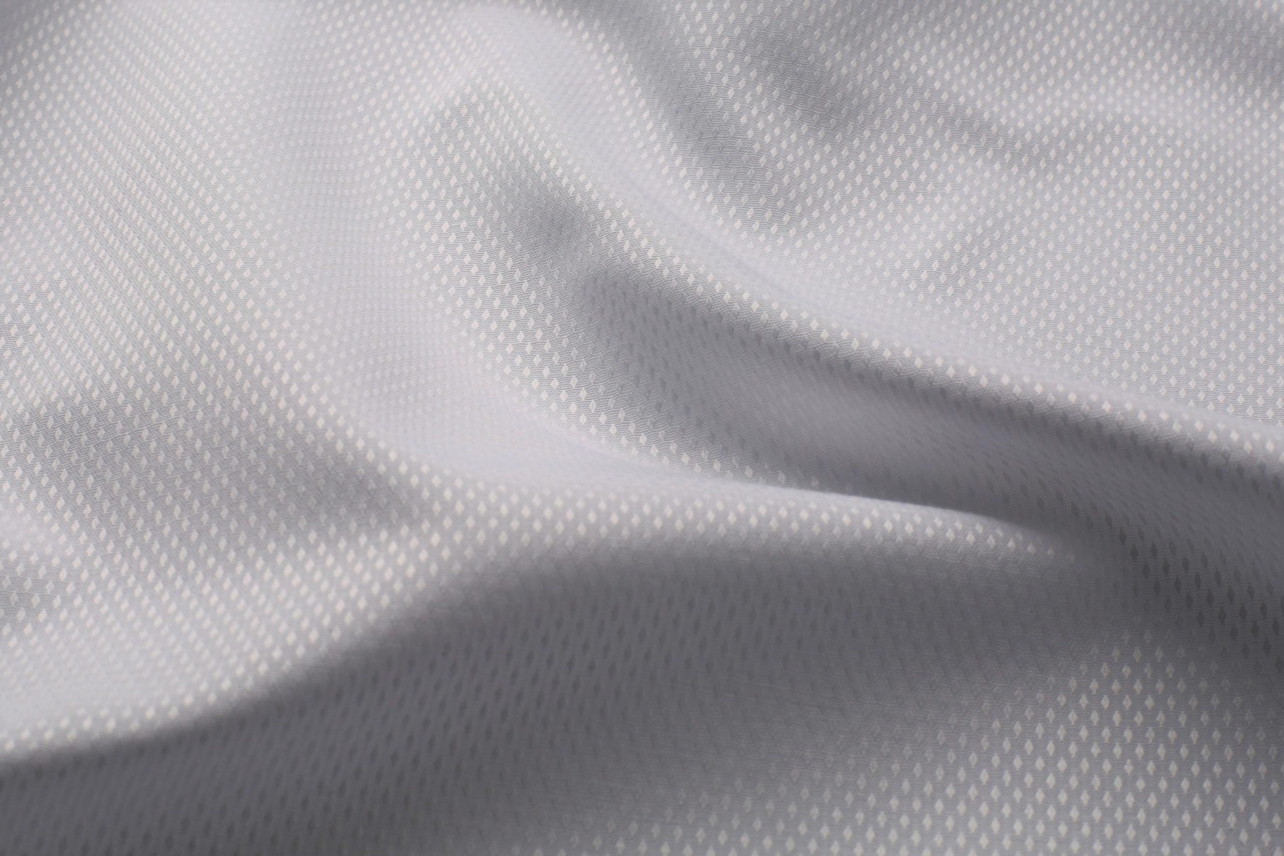 100_ cotton white dobby shirt fabric