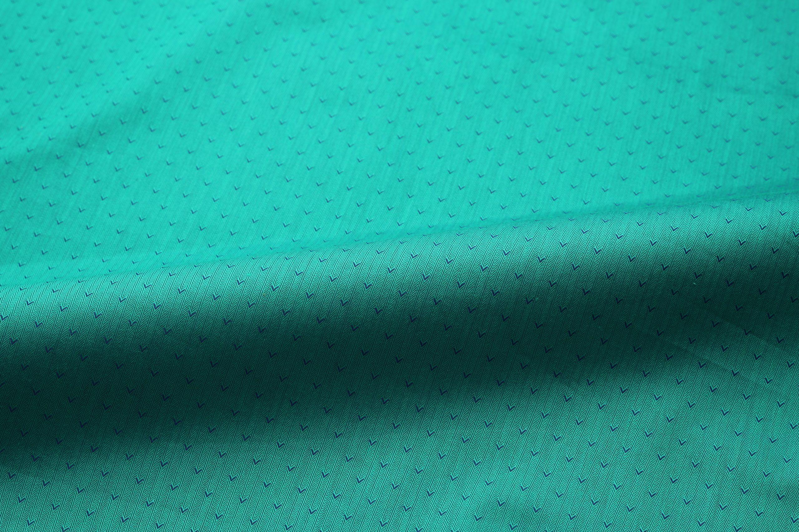 Herringbone dobby shirt fabric