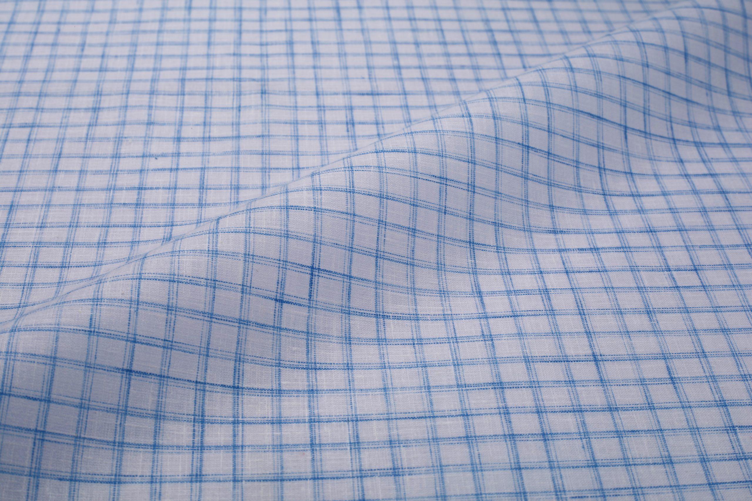 casual check shirt fabric