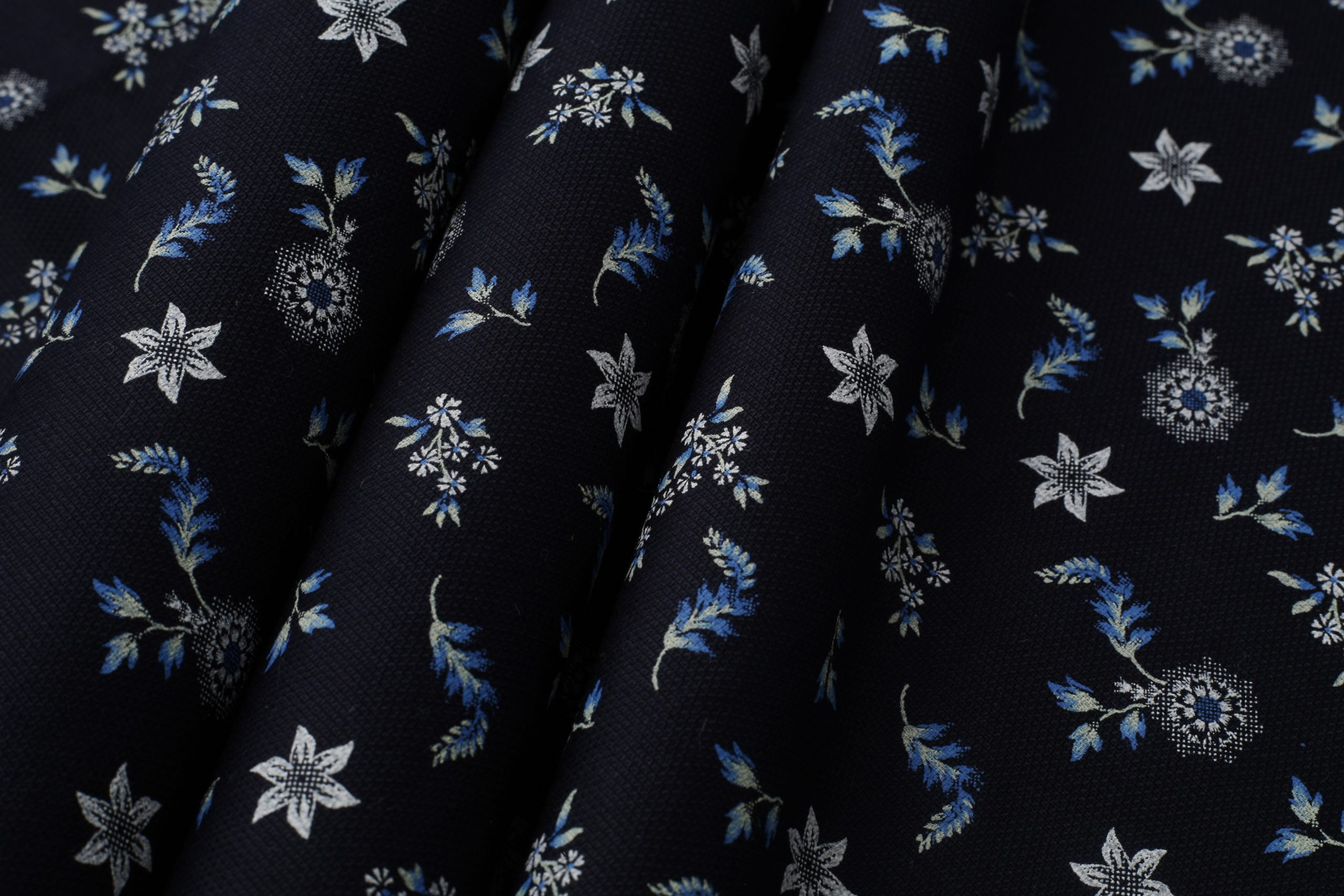 dobby print shirt fabric