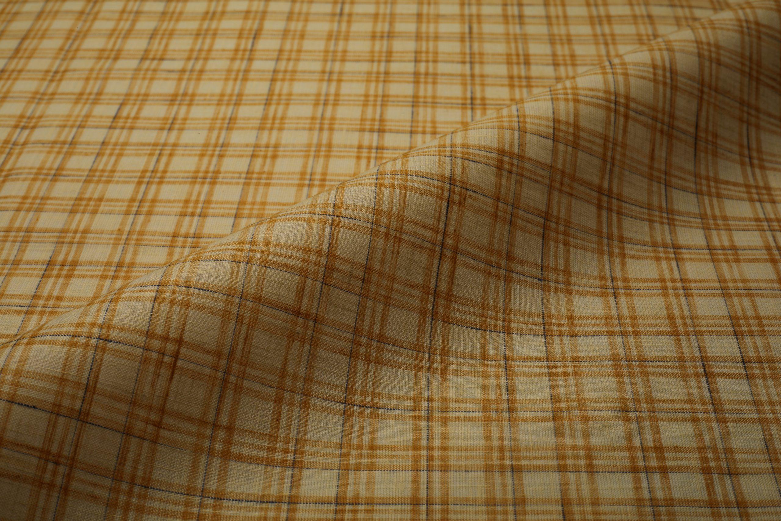 formal check shirt fabric
