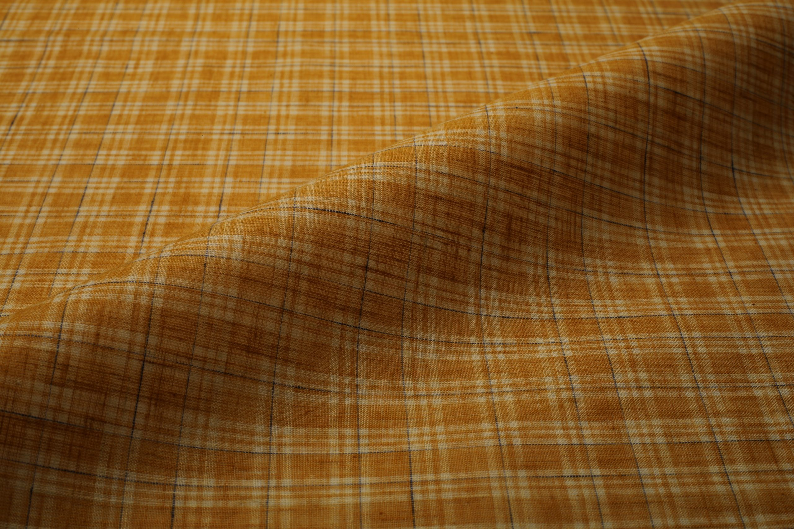 pc check shirt fabric