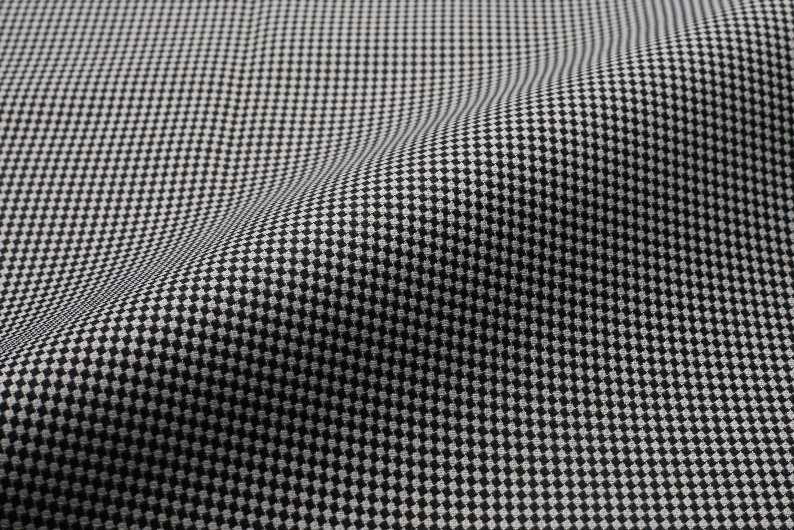 pc houndstooth fabric shirt fabric